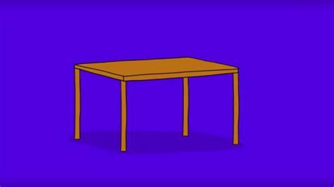 Comment Dessiner Une Table ? Youtube