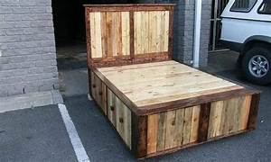 Unique, Recycled, Pallet, Beds, Ideas, 34