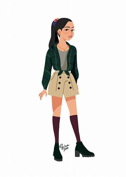 Lara Jean Outfits Boys Buzzfeed Jeans Illustrated