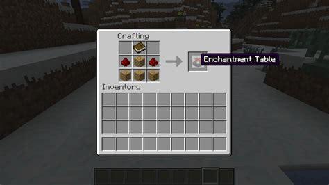 Easy Enchanting Table[11 By Blockscraft] Minecraft Mod