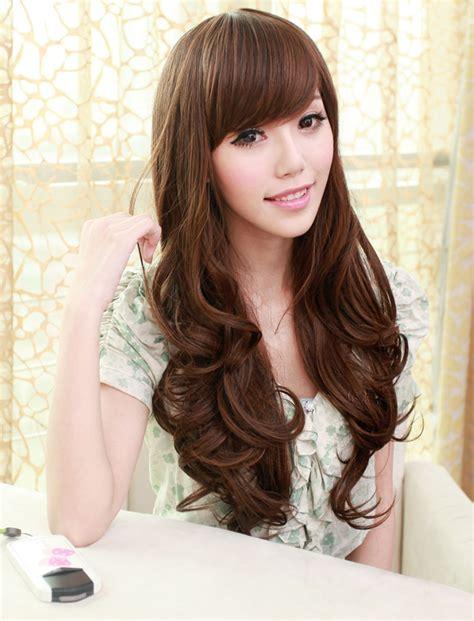 cute korean hairstyles  long hair hairstyle  women