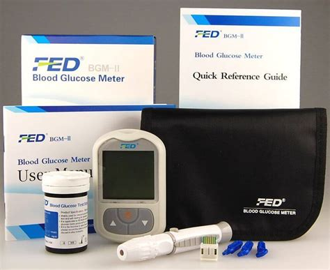 fed blood glucose meter lowest price  bangladesh
