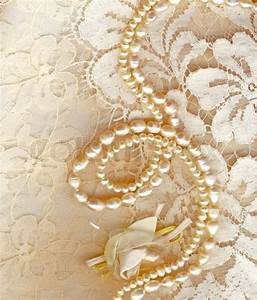 Wedding background with cream silky decoration accessories ...