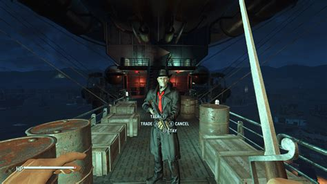 colored hat  coat  nick valentine mod