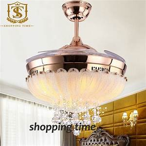 European simple design inch ceiling fan light blades