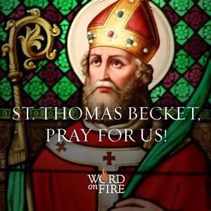 PrayerGraphics.com » St. Thomas Becket