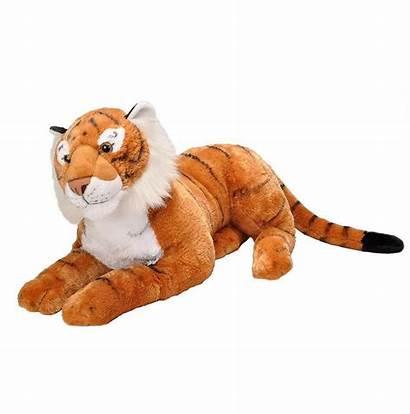 Tiger Stuffed Plush Animal Toy Jumbo Wild
