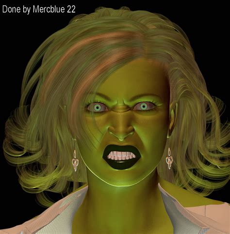 she hulk ih style 1 by mercblue22 on deviantart