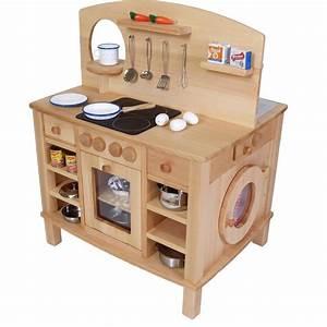 Küche Für Kinder : 4 seitg bespielbare kinder k che holz spielzeug peitz ~ A.2002-acura-tl-radio.info Haus und Dekorationen
