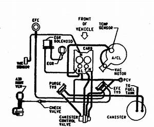 Need Vacuum Hose Diagram For 1986 Cutlass 307