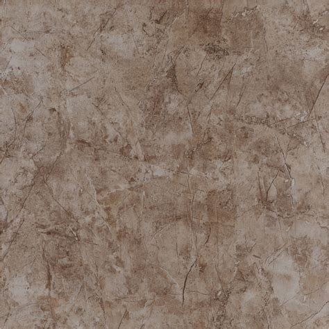 shop style selections brown ceramic marble floor tile
