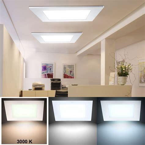 watt led panel decken einbau leuchte wohnzimmer raster