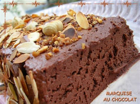 marquise simplissime au chocolat et sa cr 232 me anglaise vanill 233 e mes ptites gourmandises