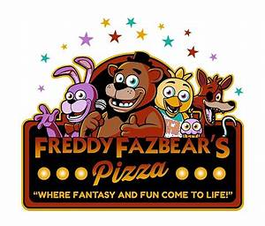 """Five Nights at Freddy's Freddy Fazbear's Pizza FNAF logo"