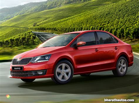 All-new 2017 Skoda Rapid Launched