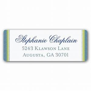 badge cool blue return address labels paperstyle With cool return address labels