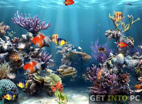 aquarium 3d screensaver free