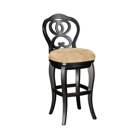 hammary hidden treasures 30 quot bar stool in black t73185 22