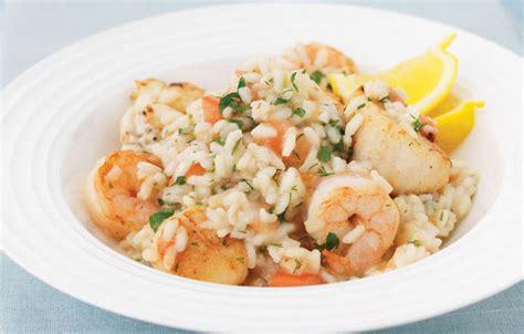 recette risotto aux fruits de mer thermomix
