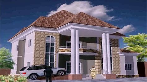 modern duplex house plans nigeria youtube