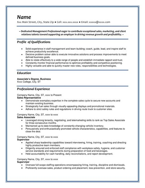 Professional Sle Resume by Free Resume Sles Resume Writing