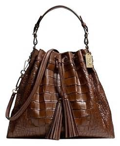 Coach Madison Large Shoulder Bag Drawstring