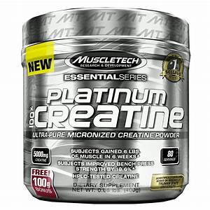 Muscletech Platinum 100  Creatine Review  U2013 Muscle Mission
