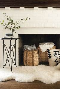 fall decorating with baskets dough bowls and trays