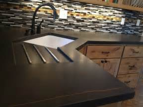 kitchen countertops options ideas 14 concrete countertops that prove this material suits any decor