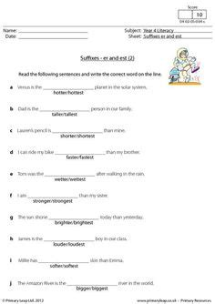 suffixes worksheets images suffixes worksheets