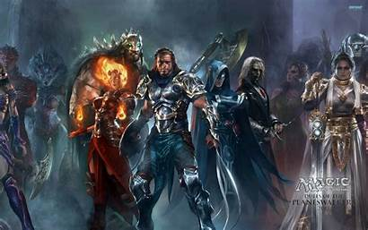 Planeswalker Wallpapers Gathering Magic Planeswalkers Background Duels