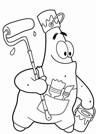 Coloring Pages Patrick
