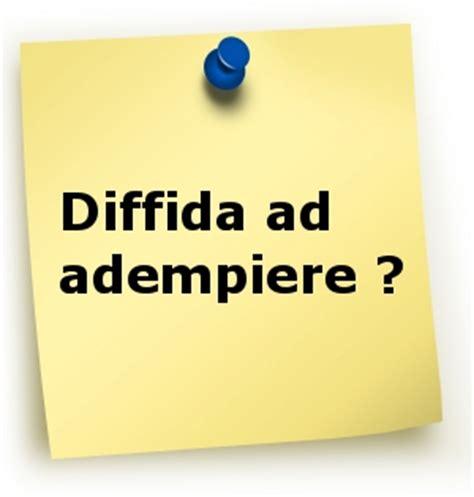 Lettera All Ufficio Personale by Ata Modulo Per Diffida Ad Adempiere Proroga Dei