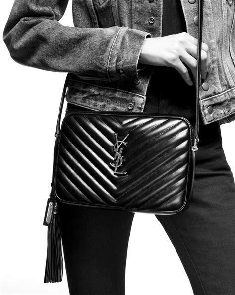 saint laurent lou camera bag  matelasse leather yslcom