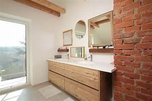 Holz Für Badezimmer : holz badezimmerm bel ~ Frokenaadalensverden.com Haus und Dekorationen