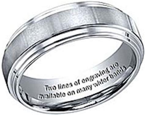 find affordable engravable rings eweddingbands com