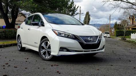 nissan leaf  drive review  long range electric car