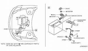 Nissan Juke Wiring Harnes 2407b