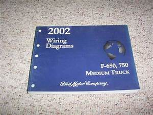 2002 Ford F750 Electrical Wiring Diagram Manual Super Duty