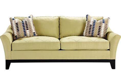 sleeper sofa rooms to go shop for a cindy crawford home rosemere wasabi sleeper at