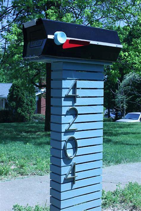 sears atomic mailbox modern mailbox mid century exterior retro renovation