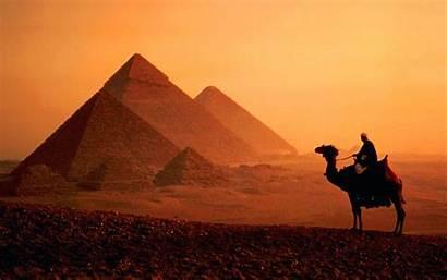 Egypt Cairo Pyramids Travel Camel Sunset Giza
