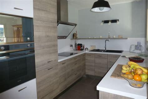 exemple de cuisine en u une cuisine qui a tout d une grande le