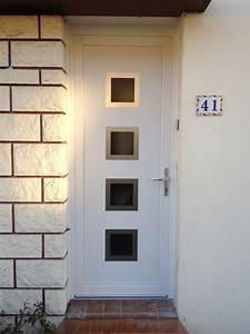 Porte D Entrée Pvc : portes d 39 entr e pvc oknolplast menuiserie alu pvc bois ~ Dailycaller-alerts.com Idées de Décoration