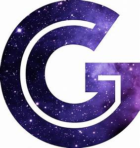 """""""The Letter G - Space"""" Stickers by Mike Gallard 