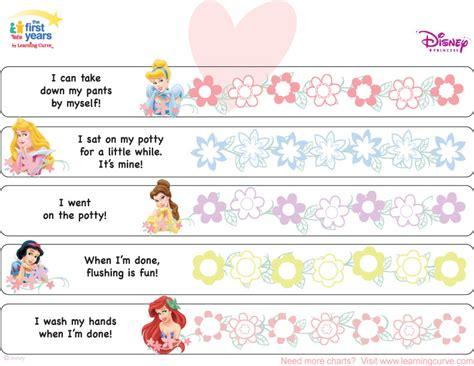 disney princess potty training chart potty training concepts