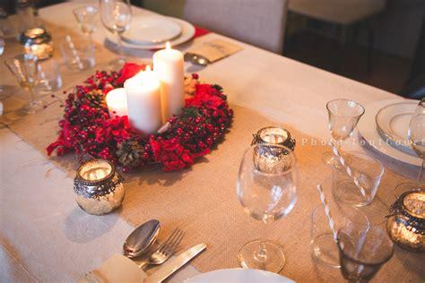 deco de table de noel rouge   chaleureuse  facile