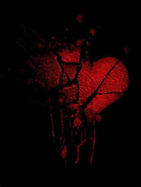 dark hearts images  pinterest hearts heart