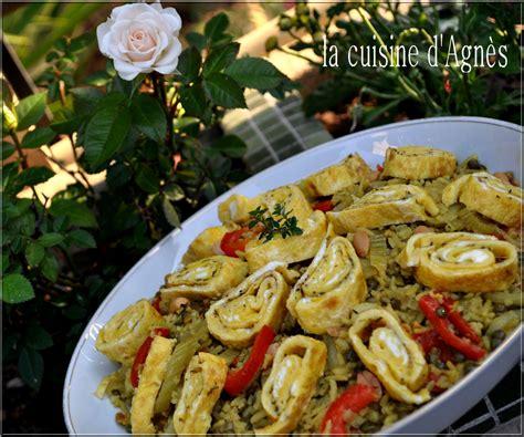 cuisine salade de riz salade de riz complet et lentilles au curry la cuisine d 39 agnèsla cuisine d 39 agnès