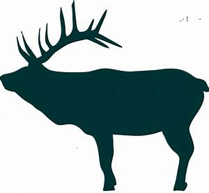 Siloutte Elk Pictures to Pin on Pinterest - PinsDaddy